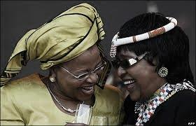 Graca Machel & Winnie Mandela