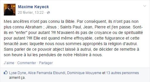 Maxime Keyeck - Google Chrome